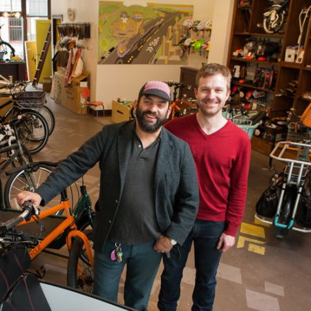 Davey and Tyler of G&O Family Cyclery