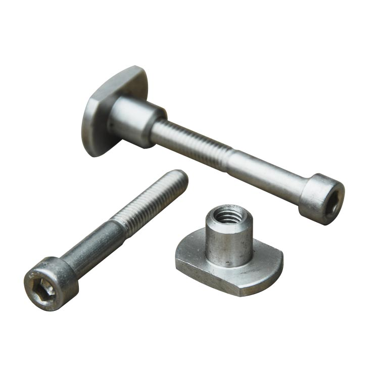 French Nut with Bolt - Pair