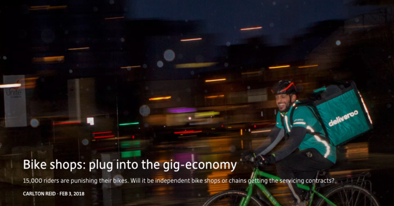 Bikebiz gives you the scoop on bikes in the gig-economy