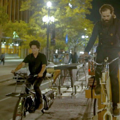 Eric Rich makes Xtracycle music