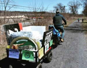 Canal Clean Up By Xtracycle