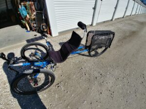xtracycle leap recumbent trike