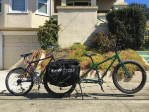 leap bike hauling