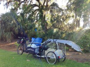xtracycle with trailer