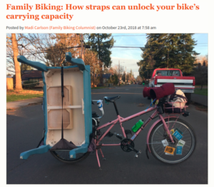 family biking: how straps can unlock