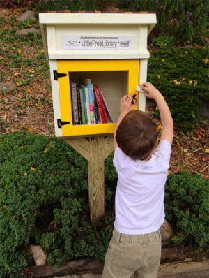 free gift little free library