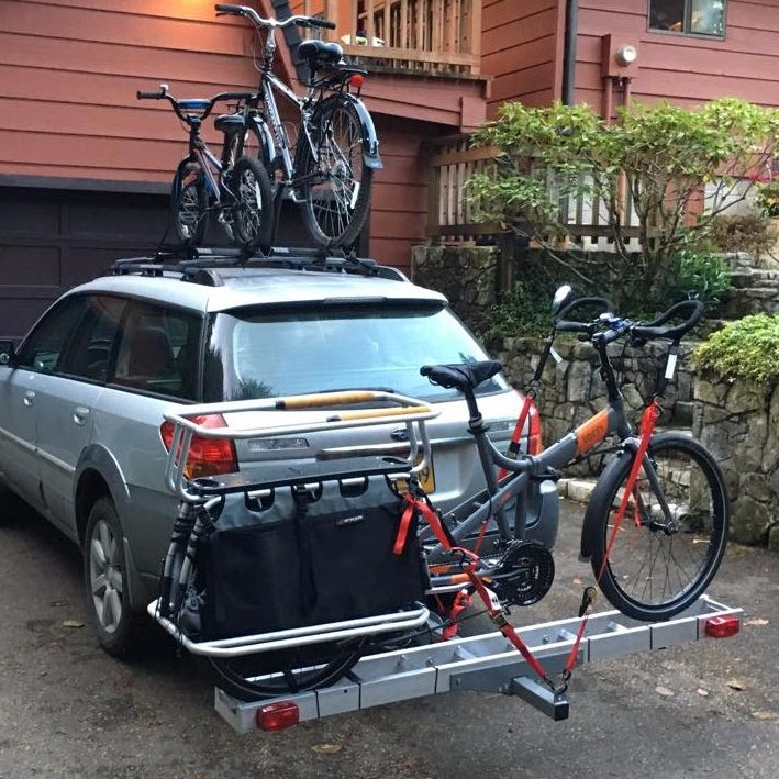 Carrying A Cargo Bike On A Car Train Etc Xtracycle