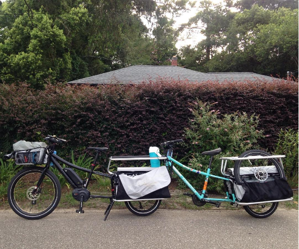 xtracycle on an xtracycle